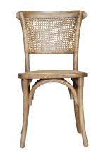 Block & Chisel woven back dining chair