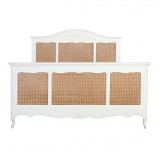french country style white bed base