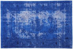 Block & Chisel blue printed rug