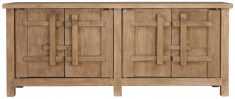 Block & Chisel natural wooden oriental inspired sideboard