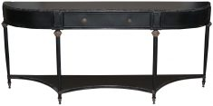 Block & Chisel iron sideboard with antique black finish