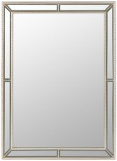 Block & Chisel rectangular mirror with bevel frame