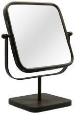 Block & Chisel table mirror with metal frame