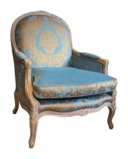 Block & Chisel round back french inspired lounge chair