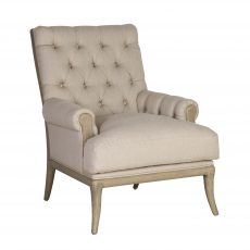 Charmaine occasional chair in linen