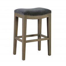 Darla Kitchen Stool or Barstool with cushioned top seating