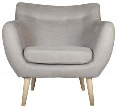 Block & Chisel oatmeal decor armchair