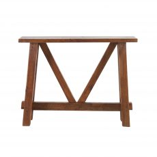 Recycled pine console