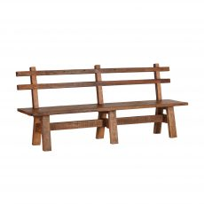 recycled pine bench