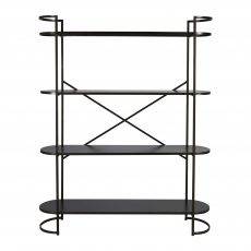 Ferndale industrial metal shelf