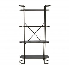 Ferndale industrial metal shelf narrow