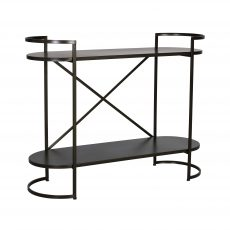 Ferndale industrial metal shelf short
