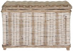 Block & Chisel rectangular kubu rattan basket