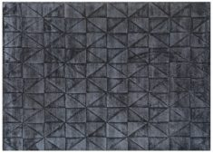 Block & Chisel charcoal printed carpet