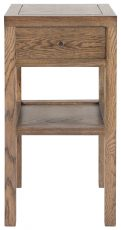 Block & Chisel solid railway oak bedside table