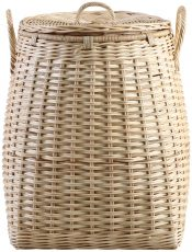 Block & Chisel round boboko wicker laundry basket