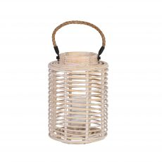 White wash Bamboo lantern