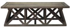 Block & Chisel recycled elm coffee table