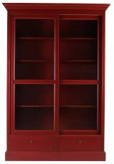Block & Chisel ECS Sliding Bookcase Artichoke finish