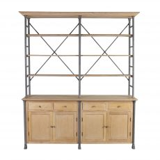 limited edition buffet wood and metal