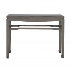 grey lacquered chinese console