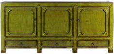 Block & Chisel green wooden sideboard