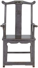 Block & Chisel grey wooden armchair