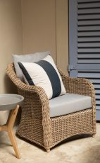 Block & Chisel outdoor lounge chair