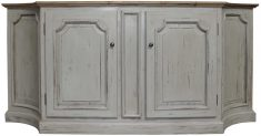 Block & Chisel antique grey wooden sideboard