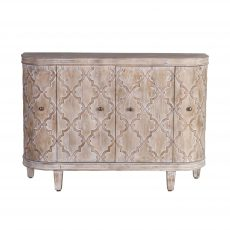 rounded sideboard 4 doors