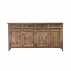 Block & Chisel sideboard with solid oak panels