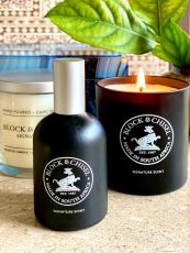 Block & Chisel signature scent collection in mat black