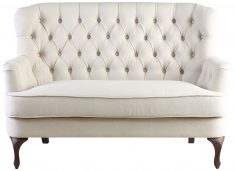 Block & Chisel beige upholstered loveseat