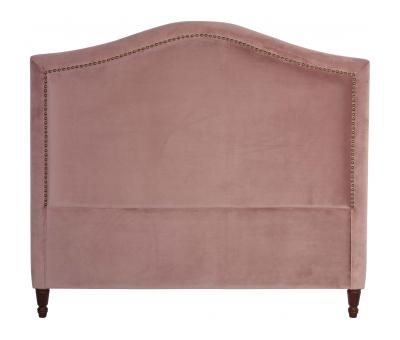 Block & Chisel mink upholstered king size headboard