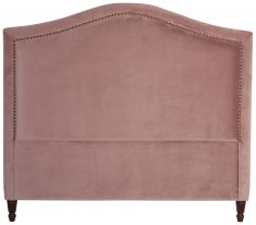 Block & Chisel mink upholstered queen size headboard
