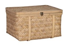 Mary Ann Bamboo Basket - Large - storage container
