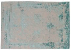 Block & Chisel teal printed carpet