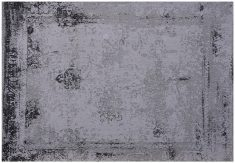 Block & Chisel grey printed rug