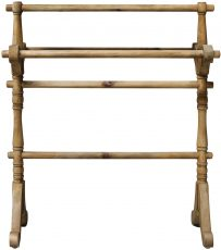 Block & Chisel elm towel rack