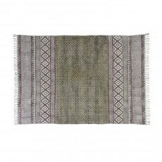 destinty rug in black and natural