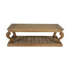 block and chisel coffee table