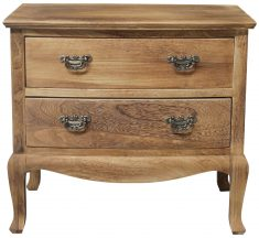 Block & Chisel french 2 drawer chest