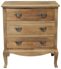 Block & Chisel french 3 drawer chest