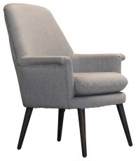 Block & Chisel beige linen upholstered occasional chair
