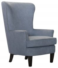 Block & Chisel grey upholstered leisure chair