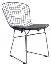 Block & Chisel wrought iron dining chair