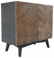 Block & Chisel 2 door cabinet