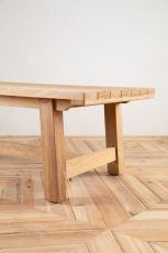 outdoor block and chisel coffee table