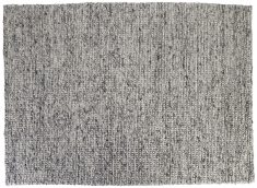 Block & Chisel grey wool rug