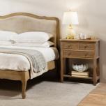 3 drawer bedside with bottom shelf
